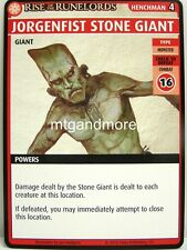 Pathfinder Adventure Card Game - 1x Jorgenfist Stone Giant - Fortress of the