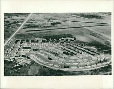 1941 Airview of Fort Knox Defense Housing Project Original News Service Photo