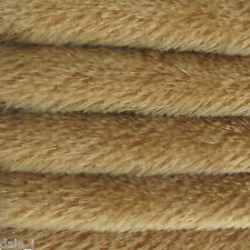 "1/6 yard INTERCAL Honey Tan 1/2"" Ultra-Sparse German Mohair Teddy Bear Fabric"