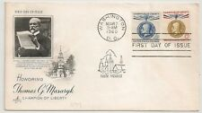 COVER UNITED STATES THOMAS MASARIYK WASHINGTON  USA ETATS UNIS. L699