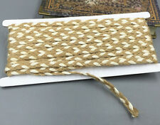 DIY 10M Hessian Burlap Ribbon Craft Vintage Wedding Party Home Gift decoration