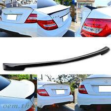 Carbon Mercedes BENZ W204 C-Class Trunk Spoiler 2013 C250 C63 C350 C300
