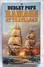 RAMAGE AT TRAFALGAR by Dudley Pope (Fontana Paperback 1987) 1st