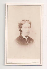 Vintage CDV Unidentified Member of Queen Victoria's Court  Dupont Photo Brussles