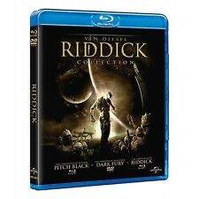 CHRONICLES OF RIDDICK TRILOGY Blu ray Part 1 2 3 Dark Fury Pitch Black Vin Diese