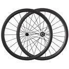 38mm Tubular Road Bike Racing Wheelset 700C Ceramic Bearing Hubs Carbon Wheels