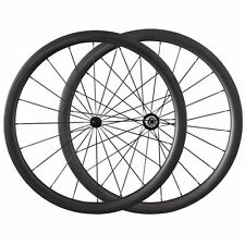 Ceramic Bearing Hubs Carbon Wheels 700C 38mm Clincher Carbon Road Bike Wheelset