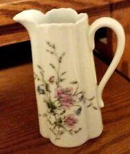 Haviland Limoges France Pitcher/Creamer - Fluted Floral