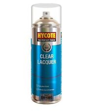 HYCOTE XUK0232 Clear Lacquer Aerosol Spray Paint 400 ml - Car/Van/Bike/General
