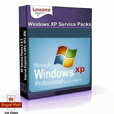 Microsoft Windows XP Service Packs 2 & 3 Plus Internet Explorer 8 SP2 SP3 IE8