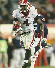 Keith Marshall Autographed signed Georgia Bulldogs 8x10 picture photo vs Auburn