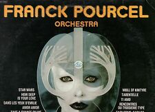 FRANCK POURCEL ORCHESTRA disco LP 33 g MADE in ITALY 1978 BEATLES UMBERTO TOZZI