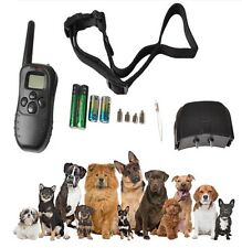 Remote Control LCD 100LV 300Meter Electric Shock Vibrate Pet Dog Training Collar