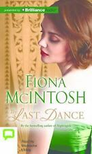 The Last Dance by Fiona McIntosh (2016, CD, Unabridged)