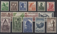 Papua New Guinea. 1952. SG1-15. Fine and fresh MNH/LMM/mtd mint set.