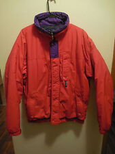 Vtg PATAGONIA Coat Jacket Puffer Men's Medium RED Insulated Ski Snowboard Winter