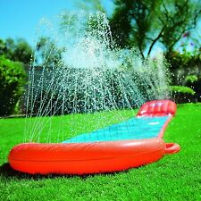 Bestway Children Kids 5.5 m H2O Go Single Slider Water Slide Orange & Blue