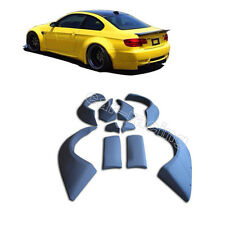 Widebody Wheel Arch Extension Fender Flares Cover Trim for BMW E92 M3 2008-2012