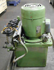 Hawe Hydraulic Unit & Power Supply, # P43/B6A90S/1, Used, WARRANTY