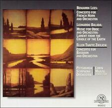 Lees: Concerto for French Horn & Orchestra; Balada: Music for Oboe &...