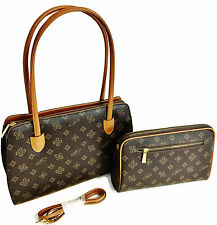"""NEW Women's Brown Designer Purse/Handbag With WALLET - 12"""" - NEW WITH TAGS"""