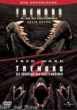 TREMORS 1 + 2 (Fred Ward, Helen Shaver) 2 DVDs NEU+OVP