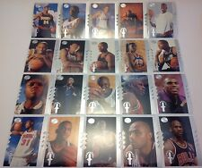 1994-95 UD 'Championship Shots' NBA Basketball 20-Card Complete Insert Card Set