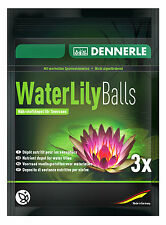NEW - Dennerle Water Lily Balls - Pond Plant Fertiliser Growth Root Fertilizer
