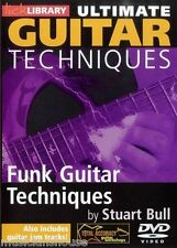 LICK LIBRARY ULTIMATE GUITAR TECHNIQUES FUNK Learn to Play Chic Styles Pop DVD