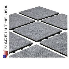 DO IT YOURSELF PREMIUM GRAY CARPET TILES - Made In USA