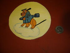 WWII RCAF  DISNEY PLUTO WITH BOMB 422 ND SQUADRON    FLIGHT PATCH