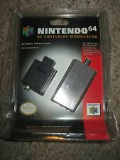 RF Switch/RF Modulator for Nintendo 64 N64 Official OEM NEW Sealed Blister Pack