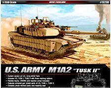 Academy 1/35 Plastic Model Kit US Army M1A2 Tusk IIV2 Tusk I 13298 Military 2016