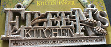 "NEW! Personalized Kitchen Hanger Sign ""Eileen's Kitchen"" Cute Unique Gift!"