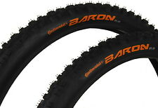 2 X Continental Baron 26 X 2.3 MTB Mountain Bike Enduro Downhill Tyre (Wired)