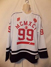 mens south pole 99 hockey style jersey shirt XXL nwt white red