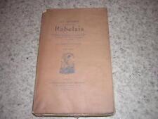 1903.oeuvres de Rabelais / Marty Laveaux.T6
