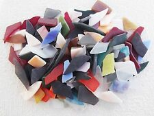 YK * 100grams SURPRISE SEA GLASS PIECES   for  MOSAIC Various Sizes