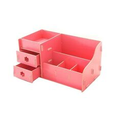 Cute Wooden Make Up Jewelry Desk Storage Organizer DIY Project, Watermelon Red