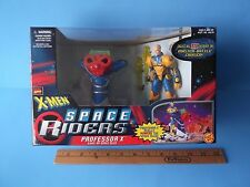 "X-Men Space Riders Professor X 5""in Figure w/Light-Up Sled Toy Biz 1997 Ages 5+"
