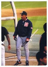 Cecil Fielder Vintage Baseball Photograph Detroit Tigers 1993 Baltimore Orioles