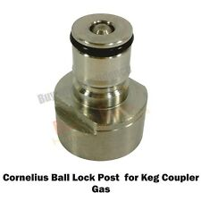 Cornelius Gas Type Ball Lock Post for Keg Coupler- For the home brew hobbyist