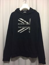 """DIOR HOMME by HEDI SLIMANE Hoody """"I´m the boy about town"""" Size XL"""