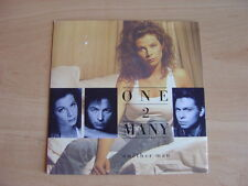 One 2 Many: Another Man 45 RPM:1989 UK Release. Picture Sleeve