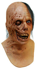 MENS EVIL DEAD BURNT ZOMBIE MASK NECK & CHEST SCARY ADULT LATEX NEW HALLOWEEN