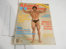OCT 1985 MD MUSCULAR DEVELOPMENT bodybuilding magazine ED KAWAK