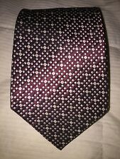 POLO BY RALPH LAUREN GRENADINE AND TAUPE SILK MEN'S TIE FOR SAKS