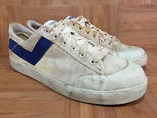 Vintage�� PONY Chevron Basketball Sneakers Sz 13 Made In SRI LANKA Aged Old Beat