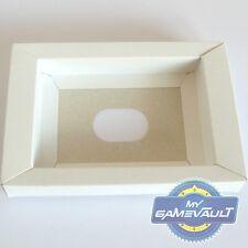 3 X Super Nintendo Snes Colocadora de cartón/Bandeja de reemplazo para juegos NTSC PAL &
