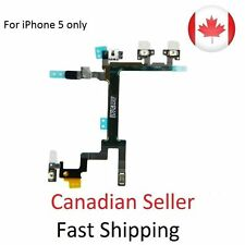 Brand New iPhone 5 Power Button Switch ON/OFF Volume Flex Replacement Part